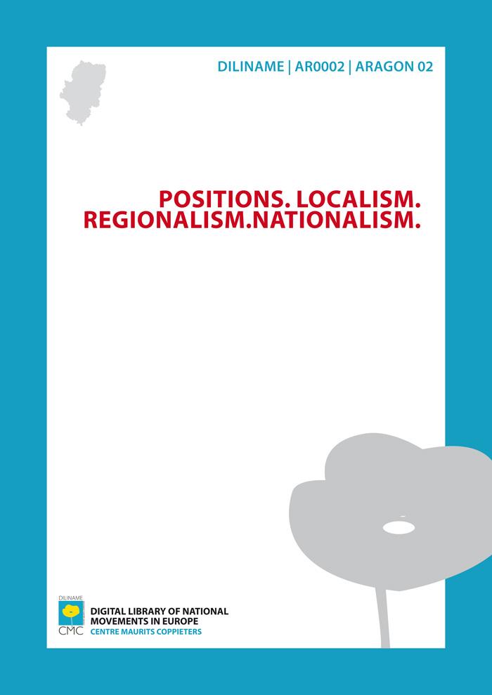 Positions. Localism. Regionalism. Nationalism (1919)